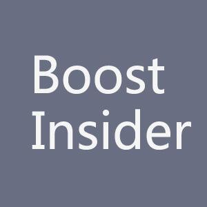 Boostinsider