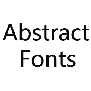 AbstractFonts