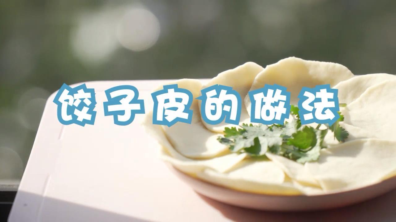 饺子皮的做法 饺子皮怎么做